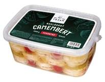 Camembert nakládaný pikantní (pevný podíl 2,3kg) chlaz. 1x3,5kg