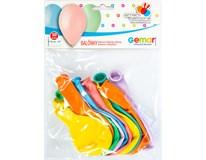 Balónek Smartballoons 26cm Mix pastel 10ks