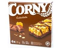 Corny Base Tyčinka čokoláda 6x25g