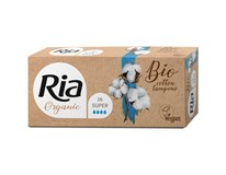 Ria Organic Tampony super 1x16ks