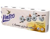 Linteo Cotton Toaletní papír 3-vrstvý 1x10ks
