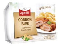 Apetit Cordon bleu s vařeným bramborem chlaz. 1x380g