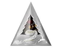 Lindt Lindor Xmas Tree (silver) Směs mléčné, hořké a bílé čokolády s náplní 1x125g