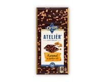 Orion Ateliér Čokoláda hořká karamel 1x115g