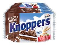 Storck Knoppers Black&White Oplatka plněná 8x25g