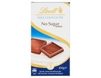 Lindt Čokoláda mléčná bez cukru 1x100g