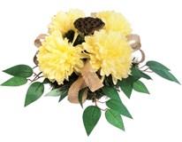 Dekorace květinová Chryzantéma 1ks