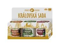 Purity Vision Královská dárková sada (bamb. máslo 120ml+kokos. olej 120ml+ghí 120ml)