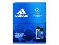 Adidas UEFA VII dárková sada (deo 150ml+sprchový gel 250ml)