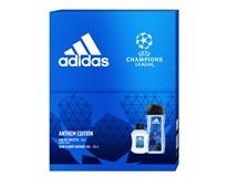 Adidas UEFA VII dárková sada (Eau de Toilette 50ml+sprch. gel 250ml)