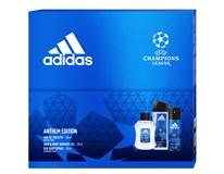 Adidas UEFA VII dárková sada (Eau de Toilette 100ml+deo 150ml+sprch. gel 250ml)