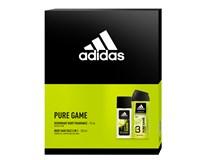 Adidas Pure Game dárková sada (natural deodorant sprej 75ml+sprch. gel 250ml)