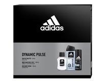 Adidas Dynamic Pulse dárková sada (Eau de Toilette 50ml+deo 150ml+ sprchový gel 250ml)