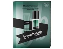 Bruno Banani Made for Man dárková sada (natural deodorant sprej 75ml+sprch. gel 250ml)