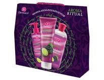 Dermacol Aroma Ritual hrozny s limetkou dárková sada (sprch. gel 250ml+mýdlo na ruce 250ml+pěna do koup. 500ml)