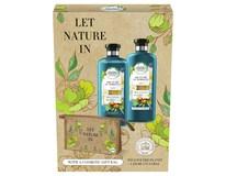 Herbal Essences bio dárková sada (šampon 400ml+balzám 360ml+argan. olej)