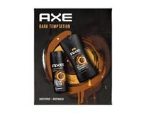 Axe Dark Temptation dárková sada (sprchový gel 3v1 250ml+deo sprej 150ml)