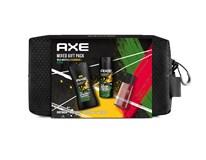 Axe Wild Mojito&Cedarwood dárková sada (sprchový gel 250ml a deo sprej 150ml+voda po hol. Africa 100ml) toaletní taška