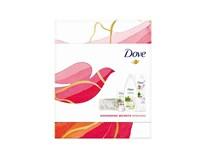 Dove dárková sada (sprch. gel Matcha Tea&sakura 250ml+těl. mléko Awake Matcha 250ml+krém na ruce Matcha 75ml)