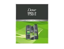 Dove Men Extra Care Fresh dárková sada (sprch. gel 250ml+antipersp.sprej 150ml+šamp. Fresh Clean 2v1 250ml)