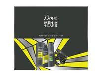 Dove Men Care dárková sada (sprch. gel Active Fresh 250ml+antipersp. sprej 150ml+šampon Fresh 2v1 250ml)+dárek