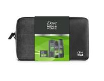 Dove Men Care dárková sada (sprch.gel Minerals&Sage 250ml+antip.sprej Mineral&Sage 150ml+šamp. Fresh 2v1 250ml+mýdlo Extra Fresh) taštička
