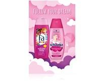 Dárková sada pro děti (Fa sprch. gel 250ml+Schauma šampon 250ml)