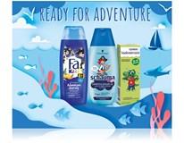 Dárková sada pro děti (Fa sprch. gel 250ml+Schauma šampon 250ml+Vademecum zubní pasta 50ml)