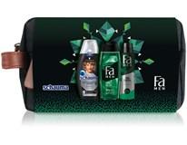 Dárková sada pro muže (Schauma šampon 250ml+ Fa sprch. gel 250ml+ Fa antipersp. 150ml) taštička