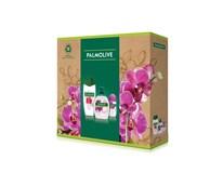 Palmolive Triple Naturals Orchid dárková sada (sprch. gel 250ml+tek. mýdlo na ruce 300ml+roll on 50ml)