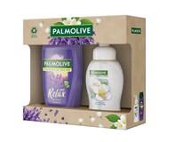 Palmolive Memories dárková sada (sprch. gel 250ml+tek. mýdlo na ruce 250ml)