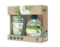 Palmolive Pure&Delight Coco dárková sada (sprch. gel 250ml+tek. mýdlo na ruce 300ml)