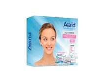 Astrid Aqua Biotic suchá/ citlivá pleť dárková sada (krém denní/ noční 50ml+micelární voda 3v1 400ml)