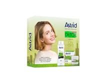 Astrid Citylife Detox dárková sada (denní krém 50ml+micelární voda 3v1 normální až mastná pleť 400ml)