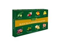 Liran Black Tea Flavoured Collection kolekce černých čajů 1x160g (8x10x2g)