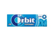 Wrigley's Orbit Peppermint Žvýkačky s mátovou příchutí 30x14g