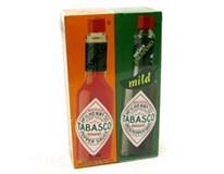 Tabasco červený+zelený pepř omáčka 2x57ml