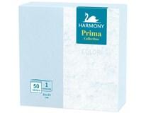 Harmony Ubrousky 1-vrstvé modré 7x50ks
