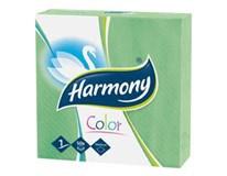 Harmony Ubrousky 1-vrstvé zelené 7x50ks