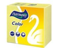 Harmony Ubrousky 1-vrstvé žluté 7x50ks