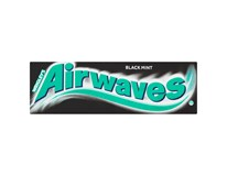 Airwaves žvýkačky Black Mint 30x14g
