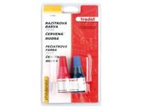 Barva razítková Trodat červená+modrá 2ks