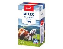 Tatra Mléko polotučné 1,5% trvanlivé chlaz. 12x1L