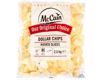 McCain Dollar chips mraž. 1x2,5kg