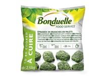 Bonduelle Špenátové listy v porcích mraž. 1x2,5kg