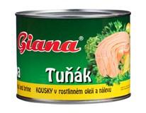 Giana Tuňák kousky v rostlinném oleji a nálevu 1x1705g