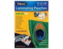 Fólie do laminátoru Fellowes 100micron/ A4 (216x303mm) 1ks