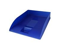 Zásuvka odkládací Herlitz transparentní modrá 1ks