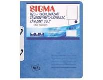 Desky-rychlovazač závěsný Sigma RZC modré 10ks