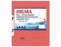 Desky-rychlovazač závěsný Sigma RZC červené 10ks